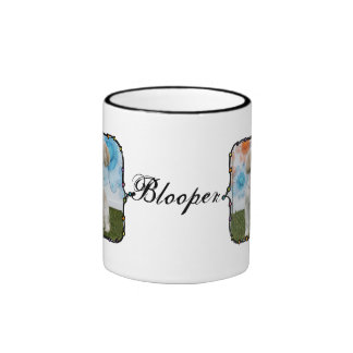 Blooper - Lasa Apso Taza A Dos Colores