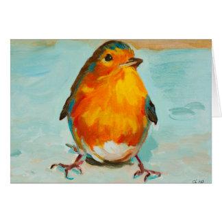 BloOrp! The English Robin Customizable Card