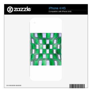 Bloque abstracto Rockin Calcomanía Para iPhone 4