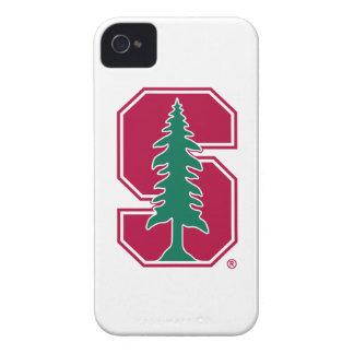 "Bloque cardinal ""S"" con el árbol 2 iPhone 4 Case-Mate Carcasas"