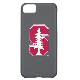 """Bloque cardinal """"S"""" con el árbol 3 Funda Para iPhone 5C"""
