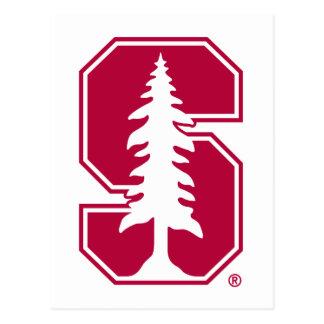 """Bloque cardinal """"S"""" con el árbol 4 Postal"""