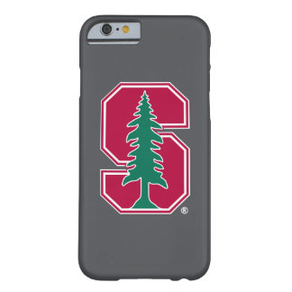 """Bloque cardinal """"S"""" con el árbol Funda De iPhone 6 Barely There"""