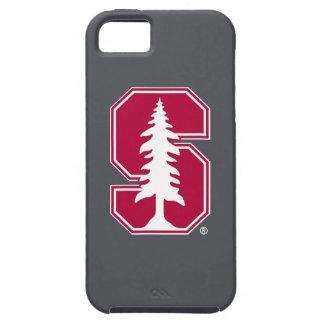"""Bloque cardinal """"S"""" con el árbol Funda Para iPhone 5 Tough"""
