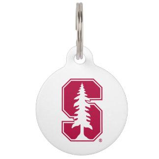 """Bloque cardinal """"S"""" con el árbol Identificador Para Mascota"""