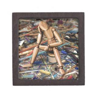 Bloque creativo cajas de joyas de calidad