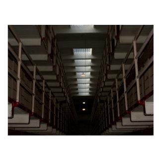 Bloque de célula de Alcatraz - nivel superior Postales