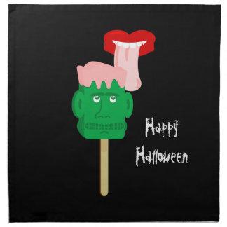 Bloque de hielo de Halloween Frankenstein Servilleta De Papel