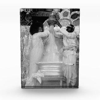 Bloque de la escultura de Sathya Sai Baba