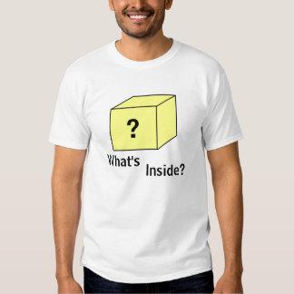 Bloque de la pregunta camisas