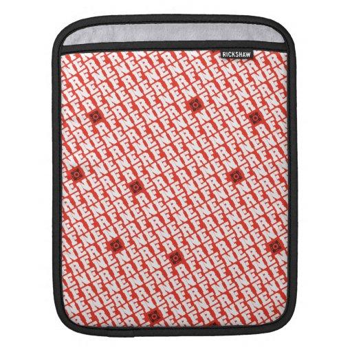 Bloque de Nerf - blanco Fundas Para iPads