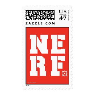 Bloque de Nerf - blanco Timbres Postales