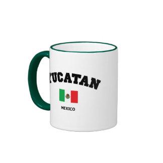 Bloque de Yucatán Taza De Dos Colores