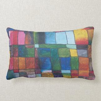 Bloque del color almohada