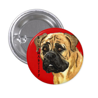 Bloque del color de Bullmastiff Pin