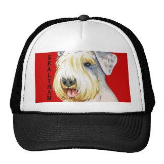 Bloque del color de Sealyham Terrier Gorras De Camionero