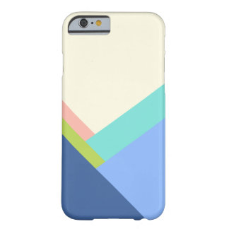 Bloque del color funda para iPhone 6 barely there