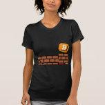 Bloque estupendo de Bitcoin Camisetas