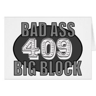 bloque grande 409 tarjeta de felicitación