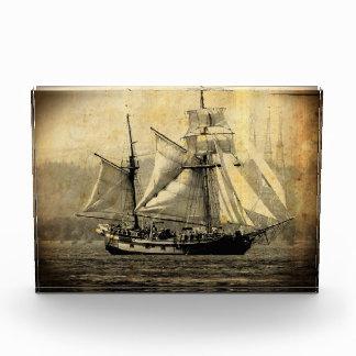 Bloque horizontal del barco pirata