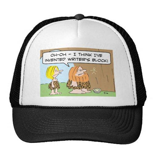 bloque inventado hombre de las cavernas de los esc gorras
