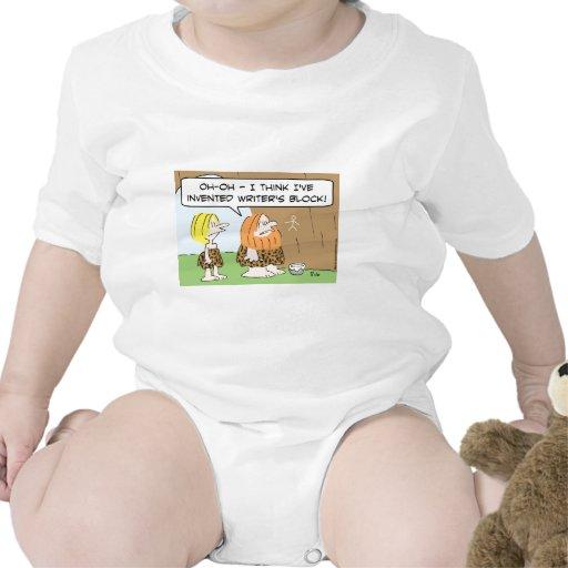 bloque inventado hombre de las cavernas de los traje de bebé