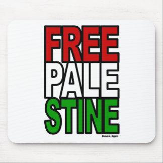 Bloque libre de Palestina Tapete De Raton