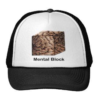 Bloque mental gorros bordados