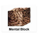 Bloque mental tarjetas postales