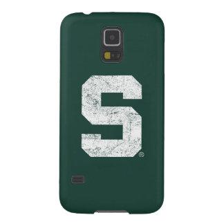Bloque S del estado de Michigan apenado Carcasas De Galaxy S5