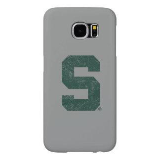 Bloque S del estado de Michigan apenado Fundas Samsung Galaxy S6
