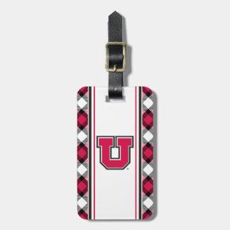 Bloque U de Utah Etiqueta De Equipaje