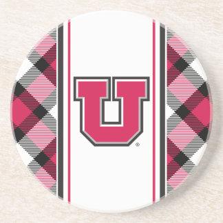 Bloque U de Utah Posavasos Personalizados