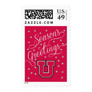 Bloque U de Utah Timbres Postales