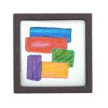 bloques 3D Caja De Regalo De Calidad