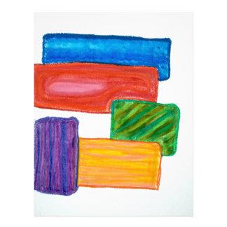bloques 3D Membrete A Diseño