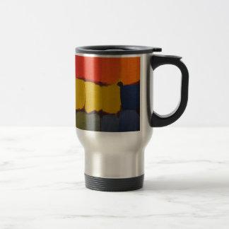 Bloques abstractos 01 del color taza