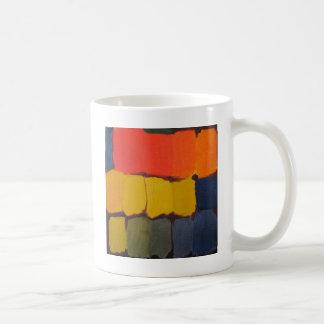 Bloques abstractos 01 del color tazas
