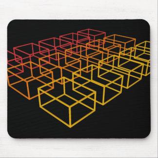 Bloques abstractos 3D: Cojín de ratón Tapete De Ratones