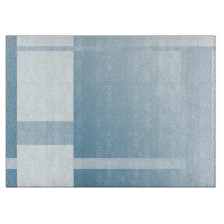 Bloques azul claro del color tabla de cortar