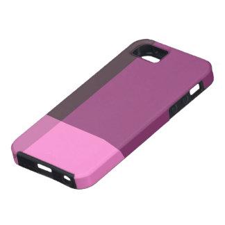 Bloques bonitos de rosa y de vino iPhone 5 cobertura