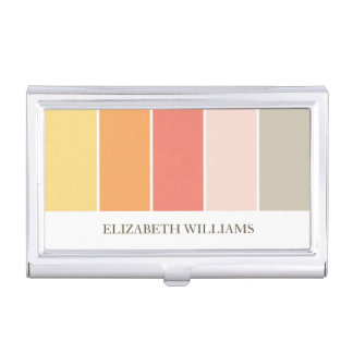 Bloques calientes modernos del color caja de tarjetas de negocios