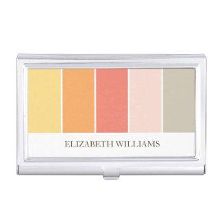 Bloques calientes modernos del color cajas de tarjetas de presentación