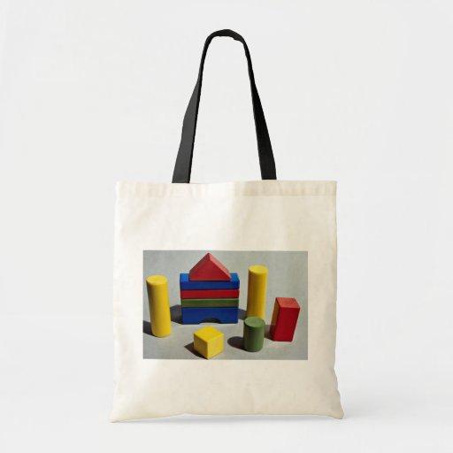 Bloques coloreados bolsa