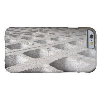 Bloques de cemento de la construcción funda barely there iPhone 6
