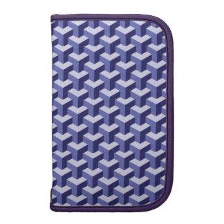 bloques de la púrpura 3D Organizadores
