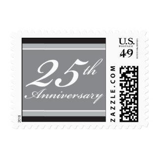 Bloques de plata del aniversario sellos