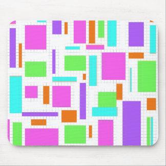 Bloques del color tapetes de raton
