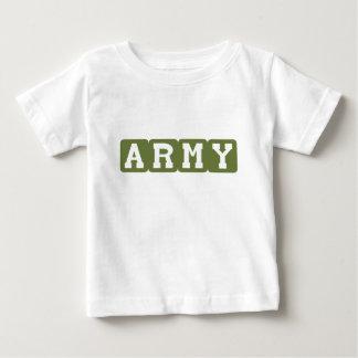 Bloques del ejército (verde) playeras