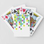 Bloques del neón barajas de cartas